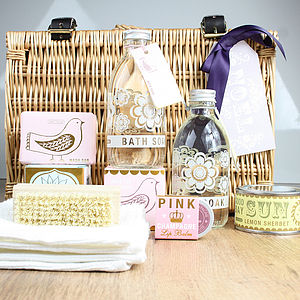 Nordic Pastel Hamper - bath & body sets
