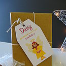 Personalise with individual names for gorgeous gift tags