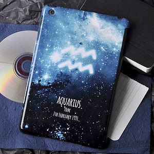 Personalised Star Signs Case For iPad Mini