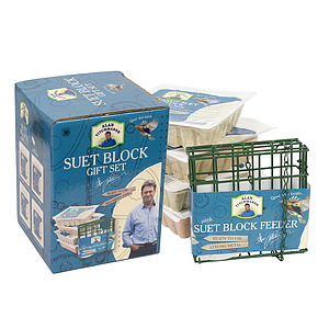 Luxurious Suet Block Wild Bird Gift Set - birds & wildlife