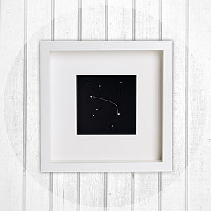 Aries   Framed Constellation Artwork - art & pictures
