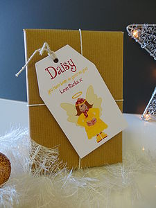 Eight Personalised Christmas Gift Tags - cards & wrap
