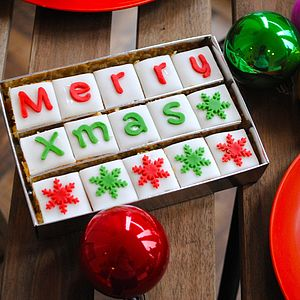 Christmas Say It With Cake - christmas parties & entertaining