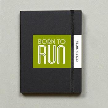 Running Gift Notebook