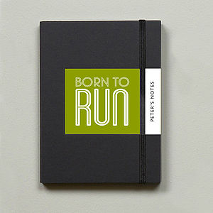 Running Gift Notebook