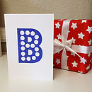 Marquee Letter Greetings Card