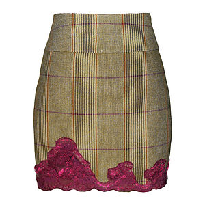 Isla Tweed Skirt - skirts & shorts