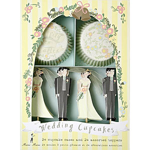 Wedding Cupcake Kit - baking kits