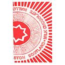 'Tunnock's Teacake Wrapper' Tea Towel