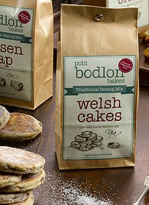 Bodlon Bake ~ Welshcake Baking Mix - make your own kits