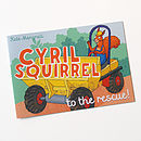 Cyril Squirrel Book
