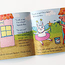 Boo Bunny and Katie Kitten Book Spread