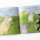 Sophie Sheep Book Spread