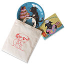 Dave Dog Child's Book And Plate Gift Set