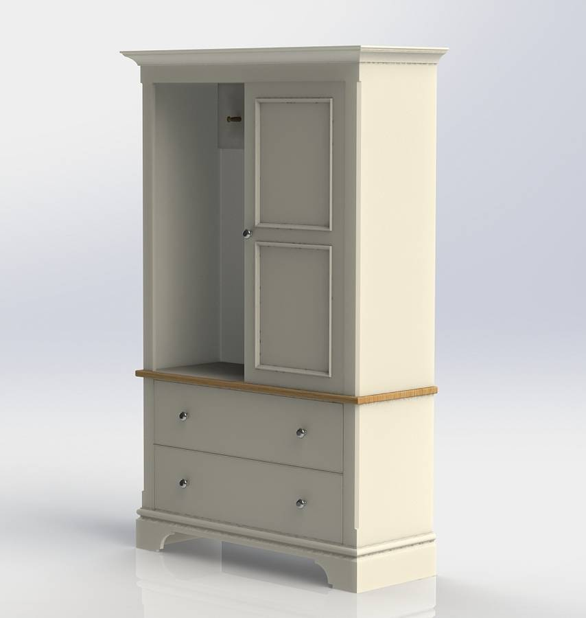 Baslow cloak and coat cupboard by chatsworth cabinets for Cupboards and cabinets