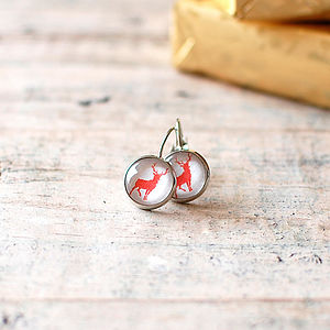 Reindeer Earrings - earrings
