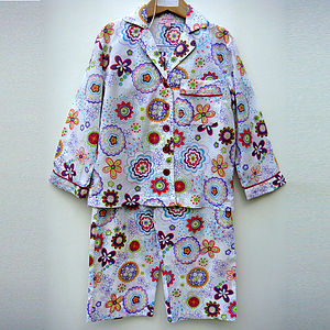 Girl's Jolly Printed Cotton Pjs