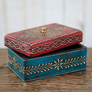 Almirah Antique Style Mango Wood Box