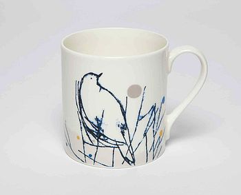 Robin Fine Bone China Mug