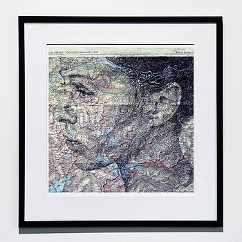 Innsbruck Map Portrait Print