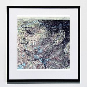 Innsbruck Map Portrait Print - home accessories
