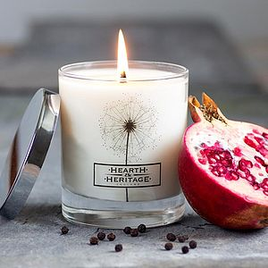Fallen Fruit Scented Candle - candles