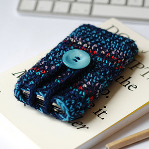 Handmade Speckled Wool Case For iPhone