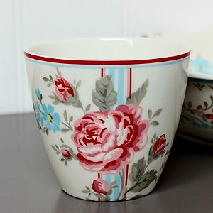 Floral Latte Cup - home accessories