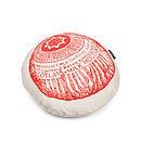 'Tunnock's Teacake' Round Biscuit Cushion