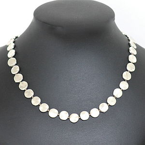 Silver Plated Beaded Necklace