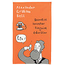 Alexander Graham Bell Tea Towel
