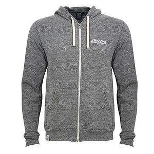 Fleece Backed Surplus 86 Print Hoodie - women's fashion