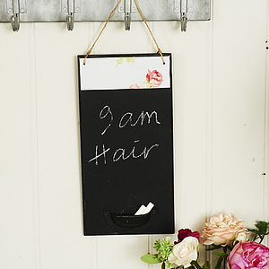 Small Personalised Chalkboard - home accessories