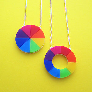 Colourwheel Necklace - women's jewellery