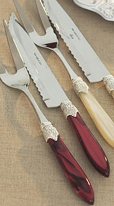 Stainless Steel Luxury Cherry Carving Set - kitchen accessories
