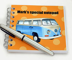 Campervan Notebook - toys & games