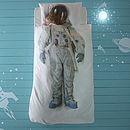 Astronaut Space Boy / Girl Single Bed Set