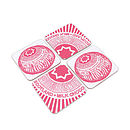 Tunnocks Teacake Set Of Four Coasters