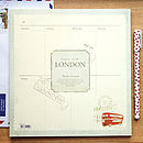 'London' Weekly Desk Planner