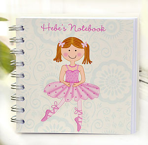 Ballet Notebook - writing