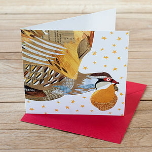 Pack Of Partridge And Pear Christmas Cards - cards & wrap