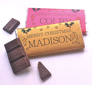 Christmas Table Gift Or Place Setting - edible favours