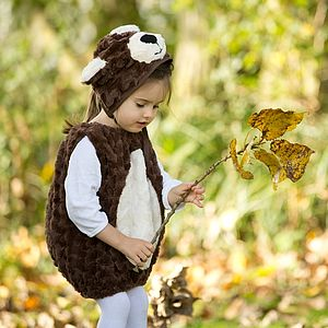 Handmade Teddy Bear Infant Fancy Dress Outfit