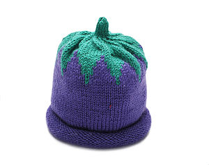 Blueberry Hat Or Set - children's hats