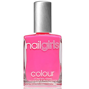 Hot Fuchsia Be Seen Nail Polish