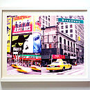New York Diptych Print