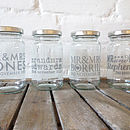 Personalised Wedding Favour Jam Jar