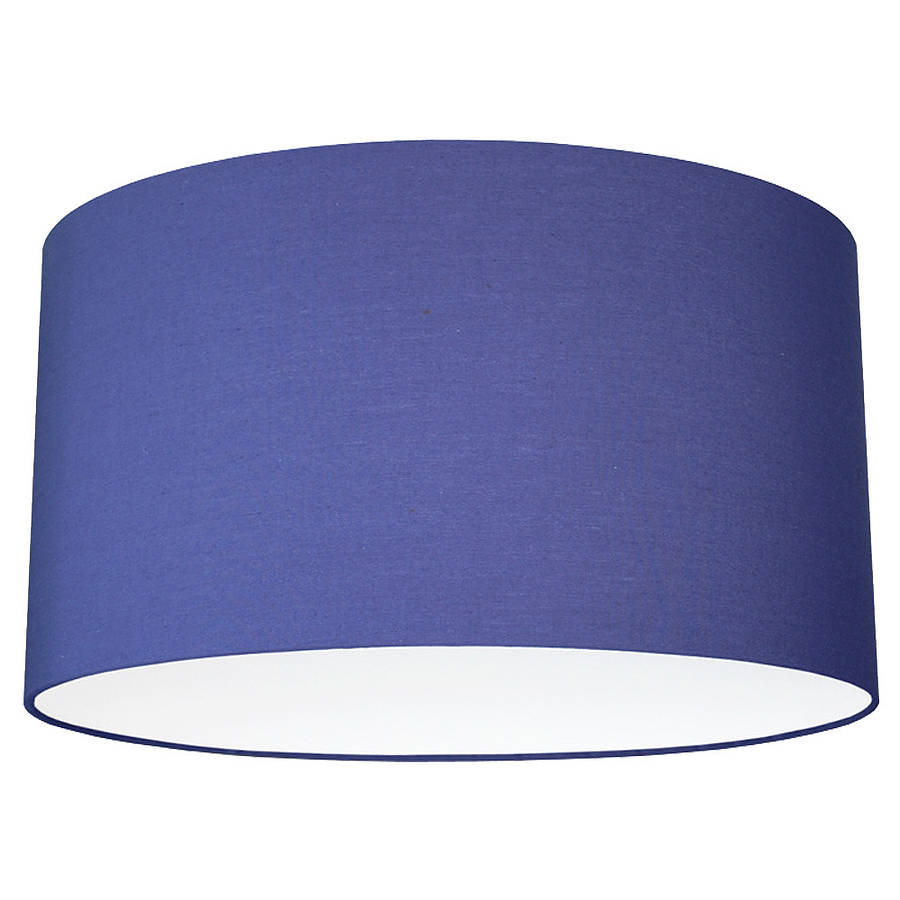 Plain bright coloured lampshade 40 colours by quirk large deep aloadofball Choice Image