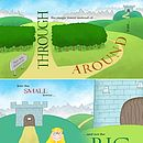 Personalised 'Opposites' Story Book