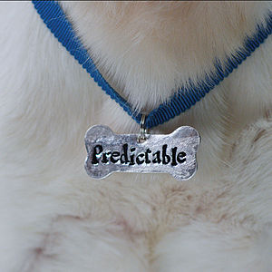 Personalised Bone Shaped Dog Tag - inspired christmas gifts